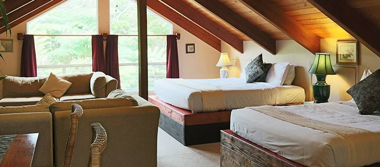 Lokahi Lodge King and Full Bed