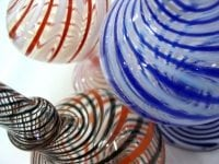 Photo of glass balls