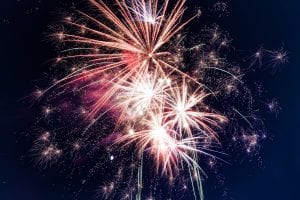 volcanos hawaii fireworks