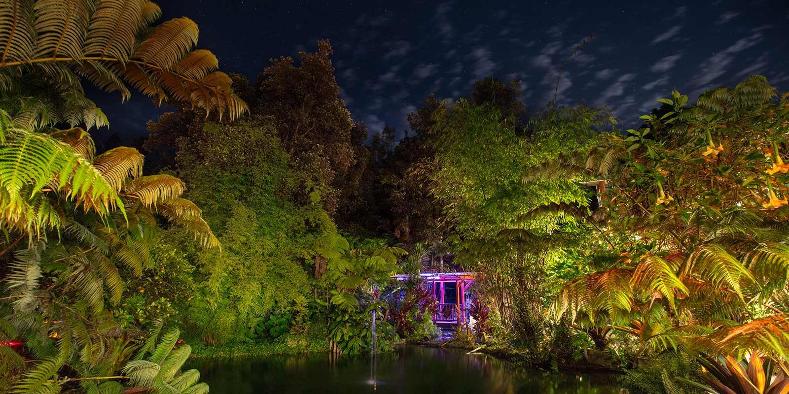 Chalet Kilauea Hotel Pond Stars