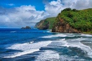 Pololu Valley view in Big island, Hawaii