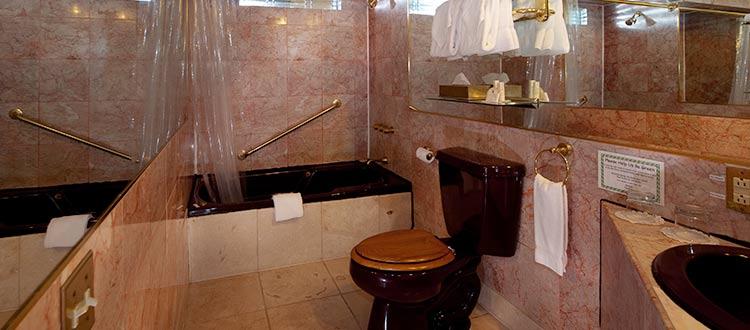 Standard Queen Bathroom- Kilauea Hotel
